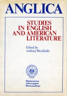 Anglica 1: Studies in English and American literature