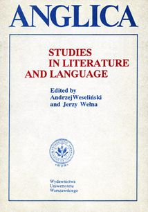 Anglica 4: Studies in literature and language