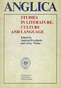 Anglica 5: Studies in literature, culture and language