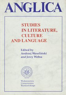 Anglica 6: Studies in literature, culture and language