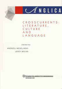 Anglica 10: Crosscurrents: literature, culture and language