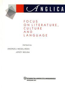 Anglica 11: Focus on literature, culture and language