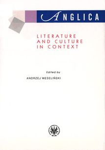Anglica 19: Literature and culture in context