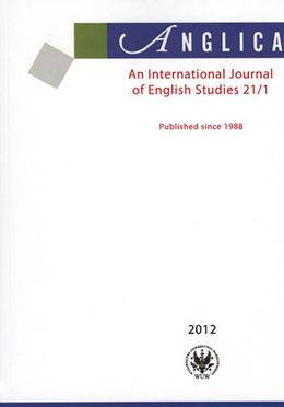 Anglica. An International Journal of English Studies 21/1