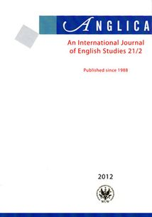 Anglica. An International Journal of English Studies 21/2 label