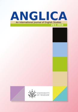Anglica. An International Journal of English Studies 25/1