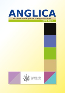 Anglica. An International Journal of English Studies 25/2